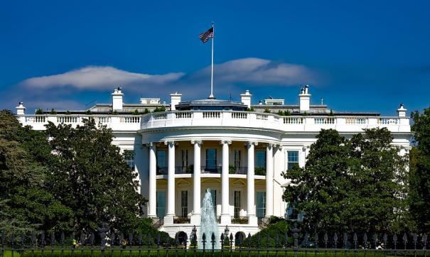 Мужчина попытался поджечь себя у Белого дома в Вашингтоне