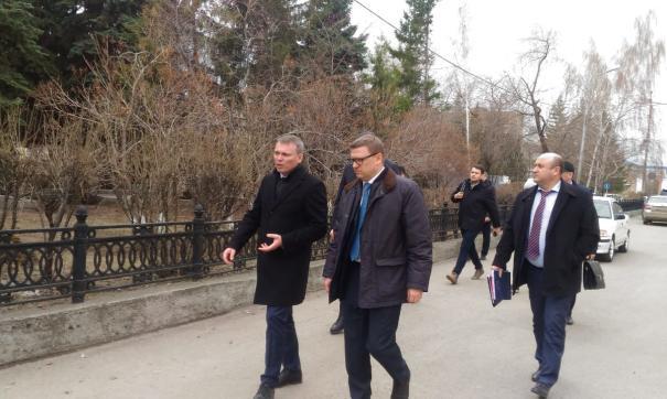 Алексей Текслер дал первые поручения Андрею Фалейчику