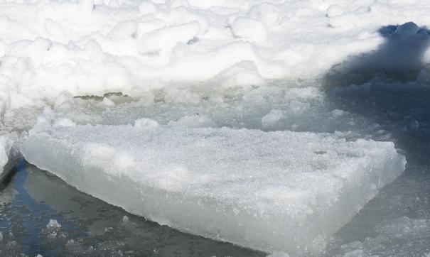 Начался ледоход на Оби