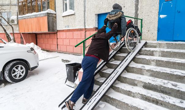 В мэрии инвалиду обещали поставить пандус