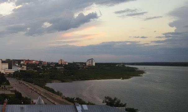 Набережная Томска
