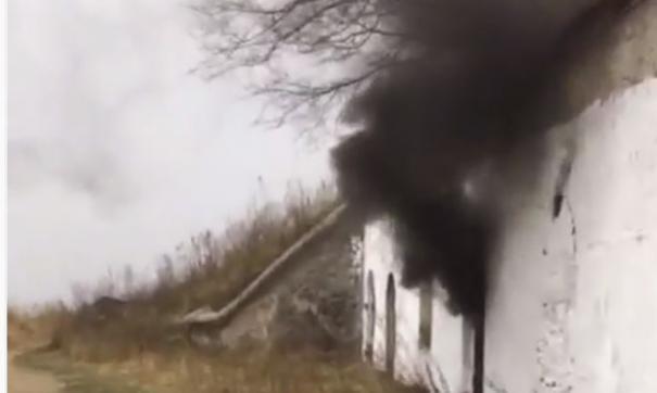 Во Владивостоке горел культурный объект федерального значения