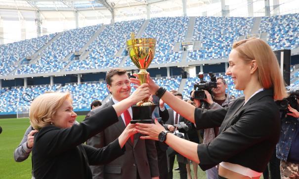 Команда завершила сезон на первом месте высшей лиги «А»