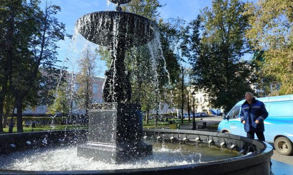 Обновленные фонтаны будут запущены уже этим летом