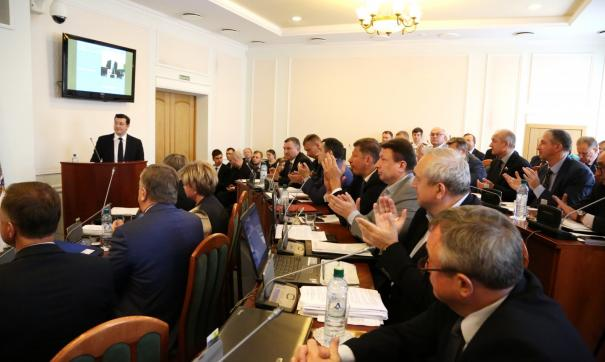 Глеб Никитин отчитается перед депутатами о проделанной работе