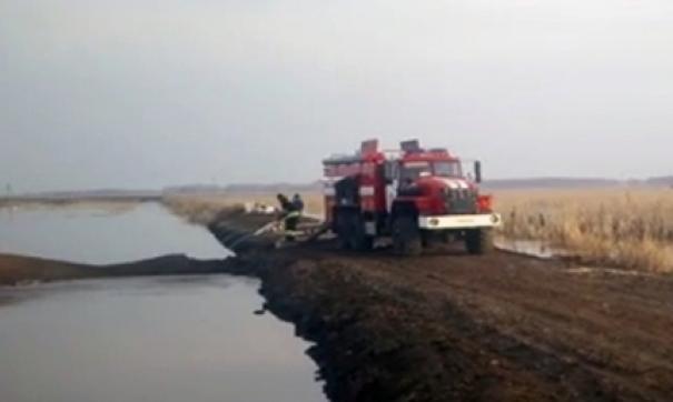 Паводковая ситуация находится на контроле администрации Москаленского района