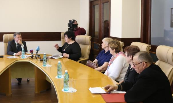 Андрей Шимкив провел встречу с жителями различных районов Новосибирской области