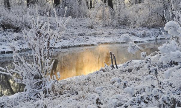 В большинстве сибирских регионах выпал снег