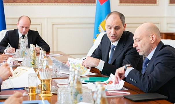 Денис Паслер встретился с министром транспорта
