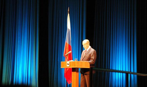 Губернатор Приангарья Сергей Левченко