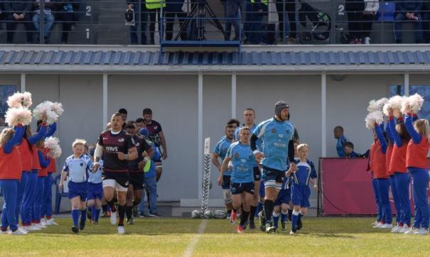 Открытие стадиона началось с победы красноярских регбистов