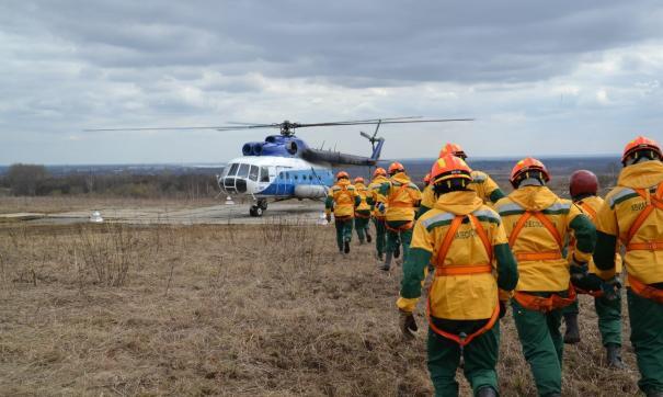 В регионе сложная пожарная обстановка сохранится в ближайшие несколько дней
