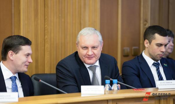 Александр Колесников с коллегами