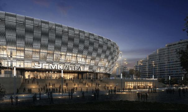 Проект ледовой арены УГМК