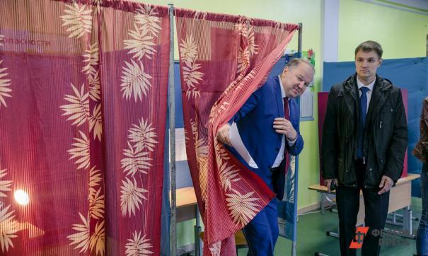 Николай Цуканов на выборах