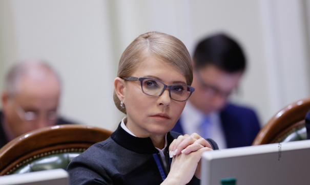 Тимошенко встала на сторону Зеленского в вопросе о роспуске Рады