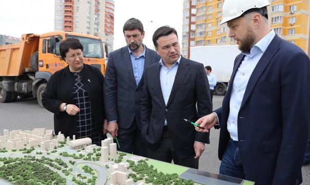 Воробьев и Грундке открыли новый завод КНАУФ