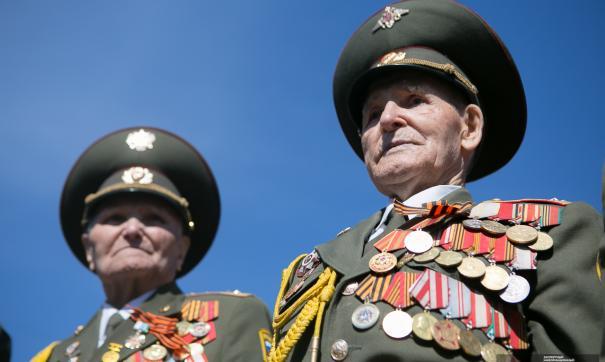 Воробьев поздравил ветеранов с наступающим праздником