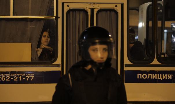 Протесты «на Драме» закончились стычками с полицией
