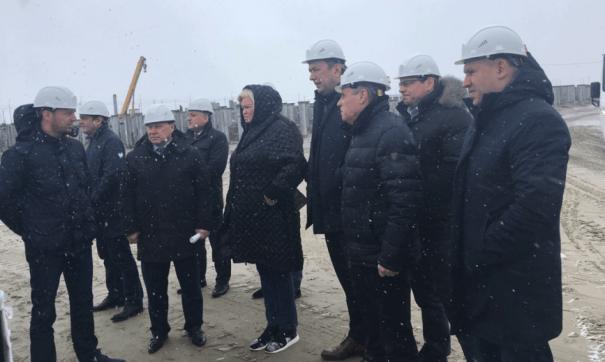 Визит правительства в Тазовский район