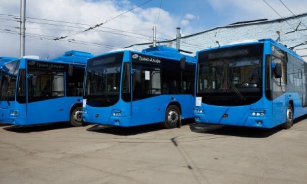 Новый транспорт низкопольный и эргономичный