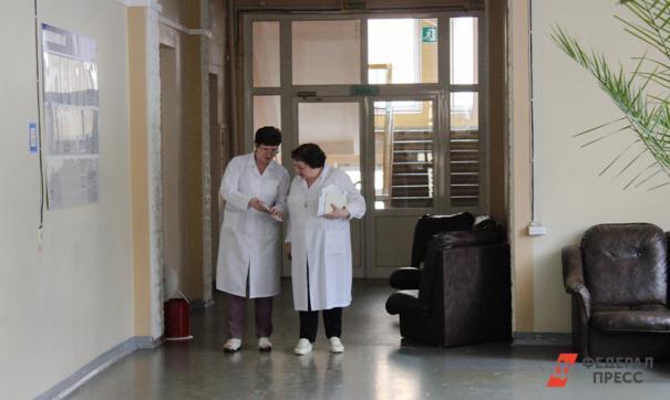 Пациенты останутся в петербургской поликлинике во время ремонта