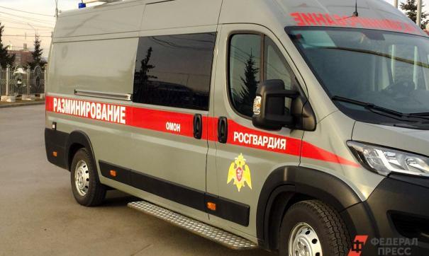 В петербургском торговом центре проходит эвакуация