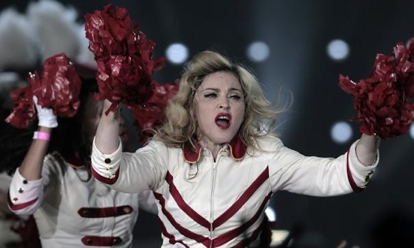 Мадонна представит новый сингл Future на Евровидении