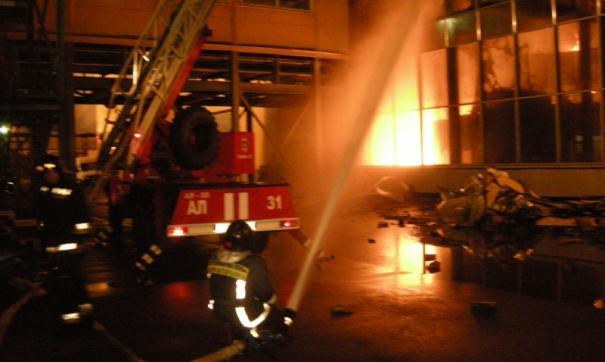 В Адыгее произошел пожар на рыбном заводе