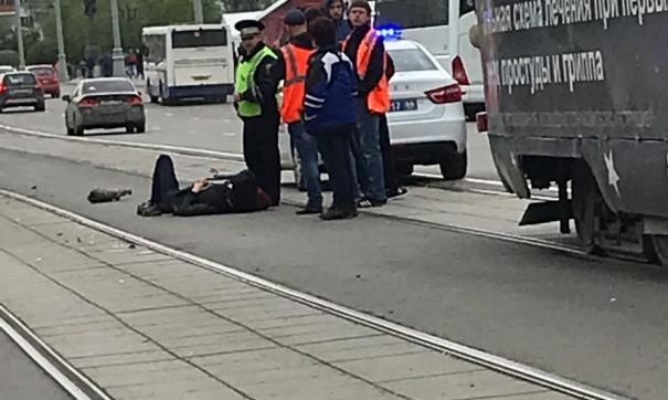 В ДТП пострадал мотоциклист