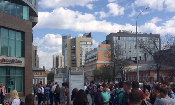 Информацию с сообщениями на электронную почту получили порядка 20 ТЦ и БЦ столицы Урала