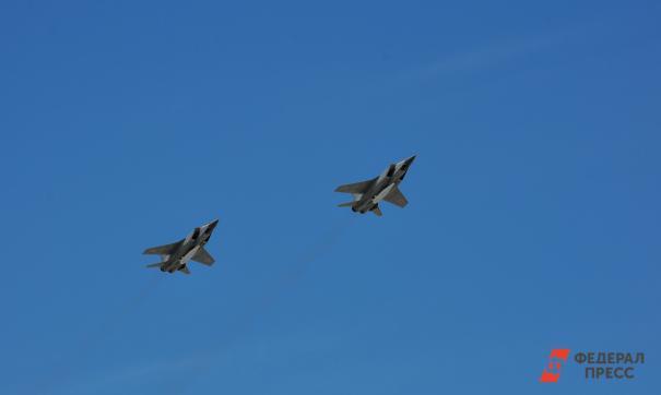 Самолеты на параде Победы