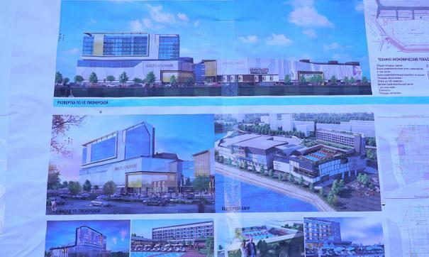Вместо аквапарка Хабаровск получил две горки и торговый центр