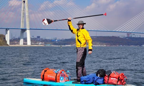 Максим Харченко намерен доплыть на сап-серфе до Сахалина