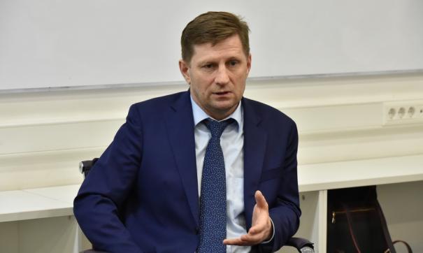 В прошлом году Сергей Фургал заработал более 5,5 миллионов рублей