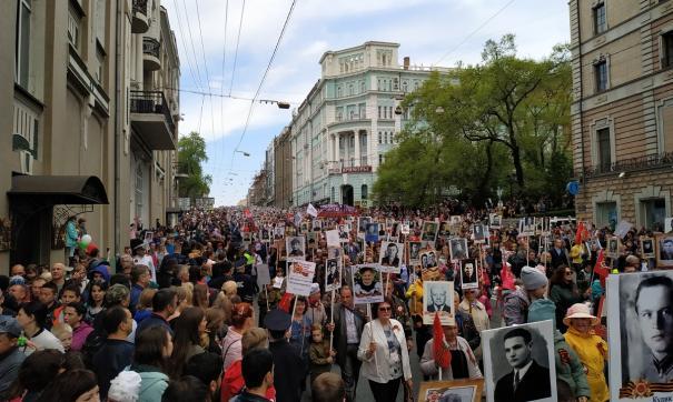 В праздновании 9 мая участвовали 85 тысяч горожан