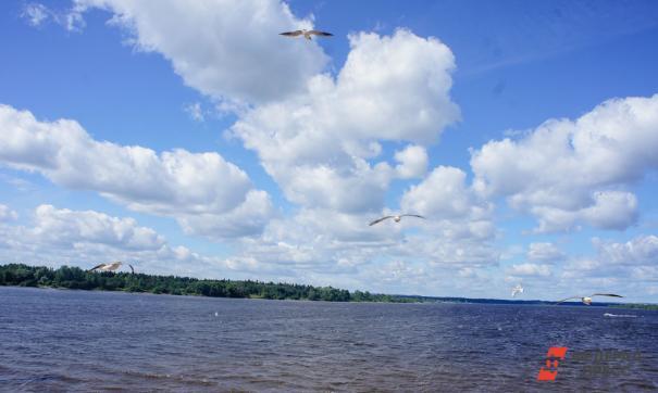 Уровень Куйбышевского водохранилища сокращается