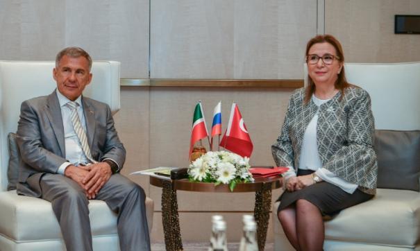 В Стамбуле проходит деловой форум «Татарстан – Турция»