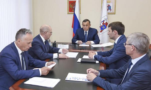 Евстифеев принял участие в селекторном совещании