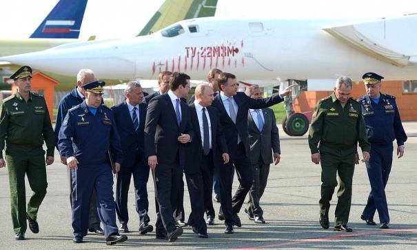 Путин прибыл в Казань с рабочим визитом