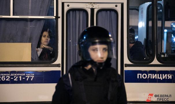 Четырех защитников сквера в Екатеринбурге вызвали на опрос в полицию