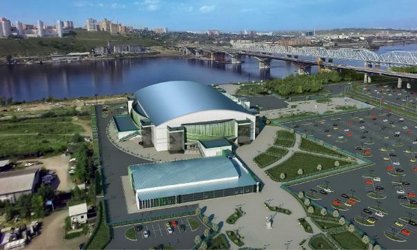 Соревнования пройдут в самом крупном ледовом дворце Красноярского края