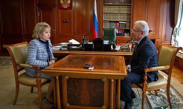 Валентина Матвиенко отметила высокий уровень подготовки к Универсиаде-2019