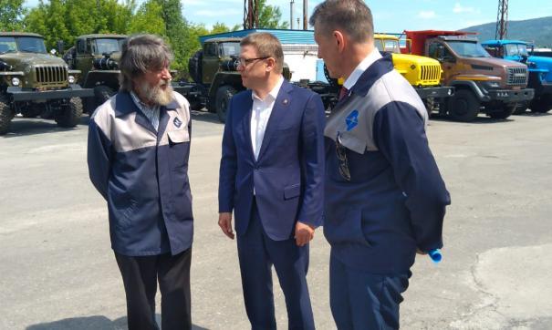 Алексей Текслер посетил миасский автомобильный завод