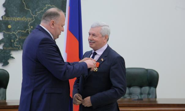 Владимир Мякуш награжден государственной наградой