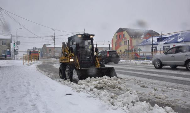 На Ямал вернулась зима