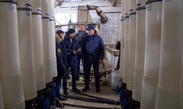 Водозабор в пригороде Южно-Сахалинска давно нуждается в ремонте