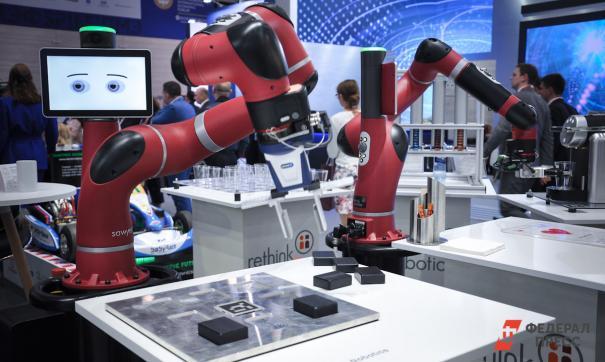 Гостям и участникам ПМЭФ представили технологии будущего
