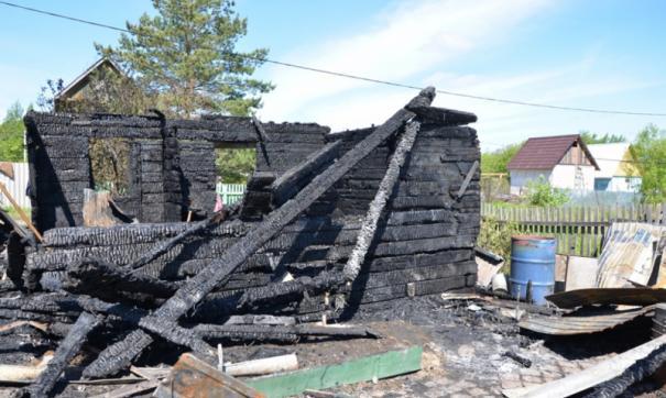 Сгоревшая дача