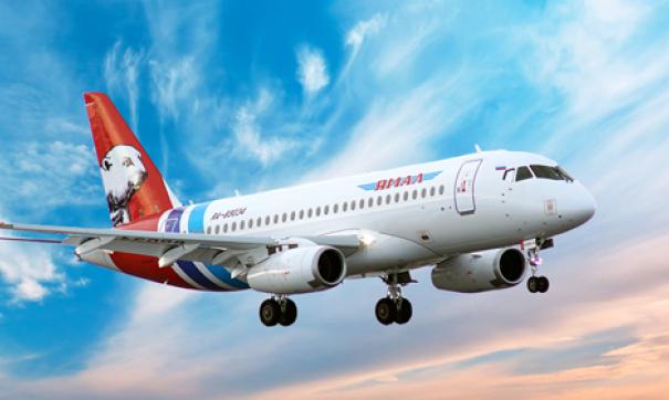 Вторым по величине эксплуатантом самолетов Sukhoi Superjet 100 после «Аэрофлота» является авиакомпания «Ямал»